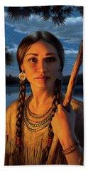Sacagawea Bath Towel