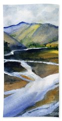 Sacramento River Delta Bath Towel
