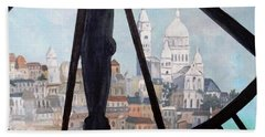 Sacre Coeur From Musee D'orsay Hand Towel