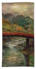 Hand Towel featuring the photograph Sacred Bridge by Hanny Heim