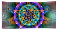 Sacred Geometry 661 Hand Towel