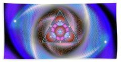 Sacred Geometry 687 Hand Towel