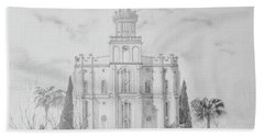 Sacred Steps - St. George Temple Bath Towel
