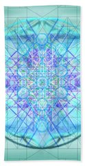 Hand Towel featuring the digital art Sacred Symbols Out Of The Void 3b1 by Christopher Pringer