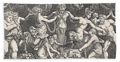 Sacrifice To Priapus Bath Towel