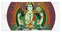Sada Shiva  Bath Towel
