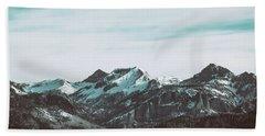 Saddle Mountain Morning Hand Towel