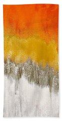 Saffron Sunrise Bath Towel