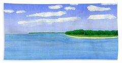 Sag Harbor, Long Island Bath Towel