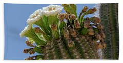 Saguaro Blooms Bath Towel