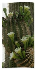 Saguaro Buds And Blooms Bath Towel