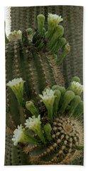 Saguaro Buds And Blooms Bath Towel