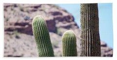 Saguaro Movie Nostalgia Hand Towel by Carolina Liechtenstein