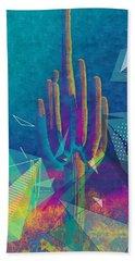 Saguaro Shatter Hand Towel