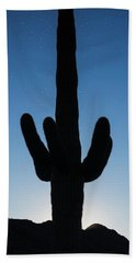 Saguaro Twilight Arizona Bath Towel