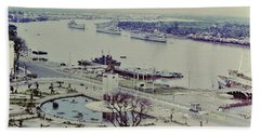 Saigon River, Vietnam 1968 Bath Towel
