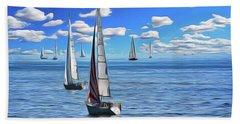 Sail Day Hand Towel