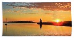 Sail Into The Sunrise Bath Towel