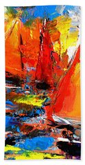Sail Into The Sunset Hand Towel