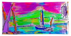 Sail Of The Century Hand Towel