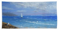 Sailing Away Bath Towel