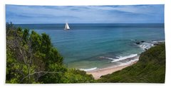 Hand Towel featuring the photograph Smooth Sailing by Robin-lee Vieira