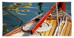 Sailing Dories 4 Hand Towel