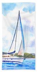Sailing The Islands 2 Hand Towel