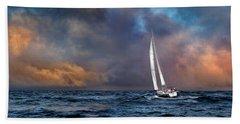 Sailing The Wine Dark Sea Hand Towel