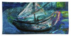 Sailor Going Home Hand Towel