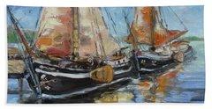 Sails 13 Bath Towel by Irek Szelag