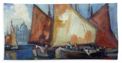 Sails 2 - Venice Bath Towel