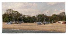 Sails Ashore Bath Towel