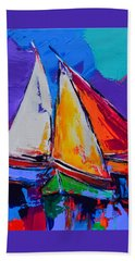 Sails Colors Hand Towel