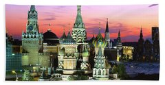 Saint Basil's Cathedral Hand Towel