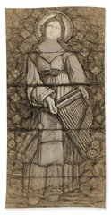 Saint Cecelia Bath Towel