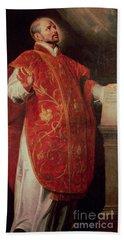 Saint Ignatius Of Loyola Bath Towel
