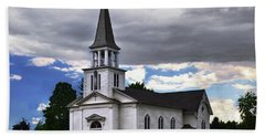 Hand Towel featuring the photograph Saint James Episcopal Church 001 by George Bostian