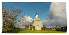Bath Towel featuring the photograph Saint Joseph's Church by Ryan Manuel