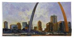 Saint Louis Skyline 3 Hand Towel