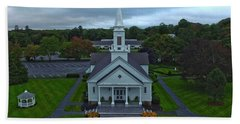 Saint Mary's Church From Above Hand Towel