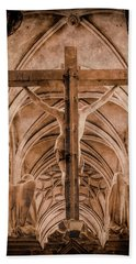 Paris, France - Saint Merri's Cross II Hand Towel