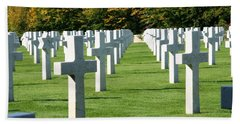 Bath Towel featuring the photograph Saint Mihiel American Cemetery by Travel Pics