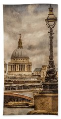 London, England - Saint Paul's Bath Towel