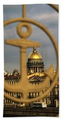 Hand Towel featuring the photograph Saint Petersburg by Travel Pics