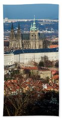 Saint Vitus Cathedral 1 Bath Towel