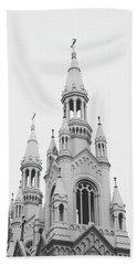 Saints Peter And Paul Church 1- By Linda Woods Bath Towel
