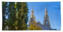 Saints Peter And Paul Church Hand Towel