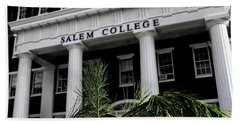 Bath Towel featuring the photograph Salem College by Jessica Brawley
