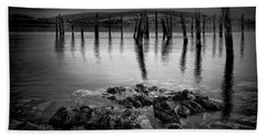 Salen Pier, Isle Of Mull Bath Towel